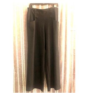 MAX STUDIO Wide Leg Sailor Pants